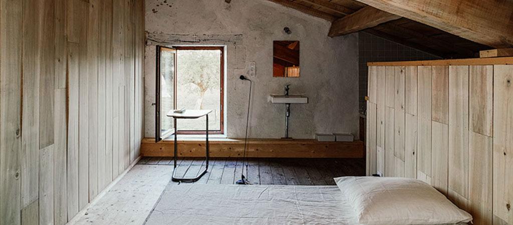 chambre maison ferme architecte