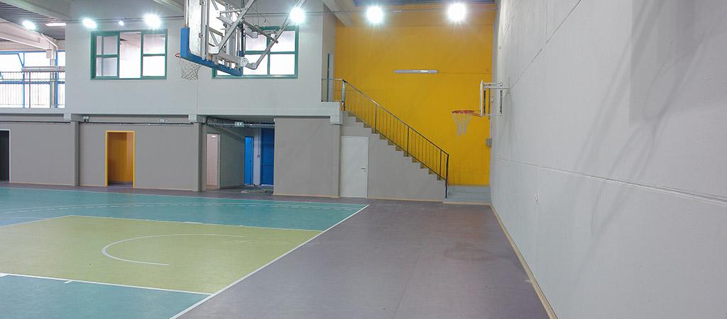 acces nouvelle salle architecte