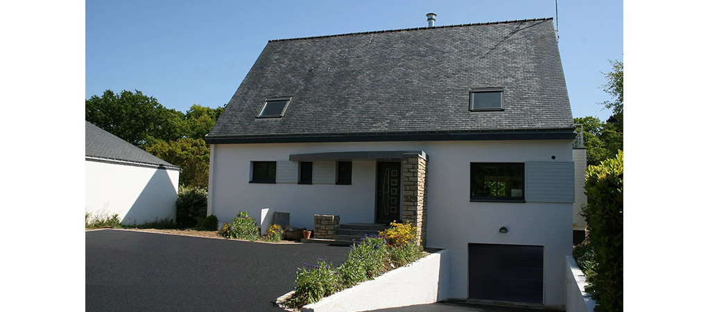 façade maison apres extension