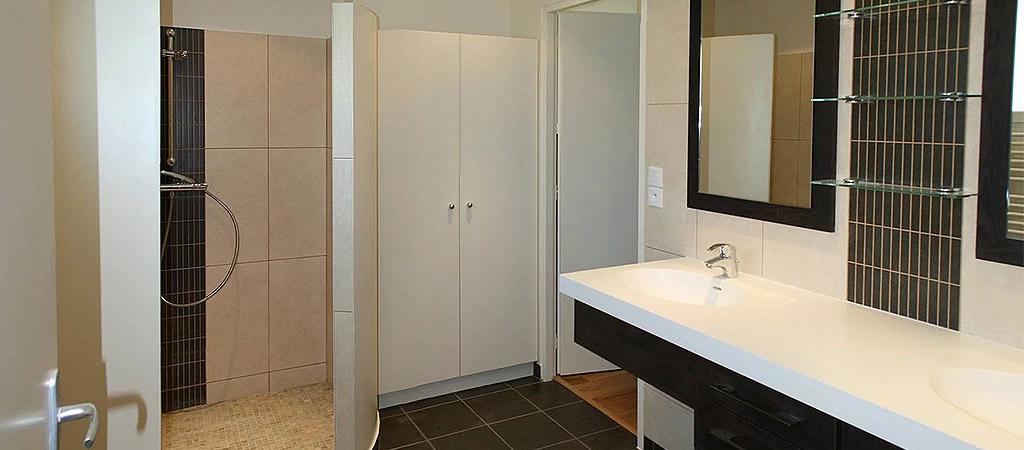 salle eau architecture extension