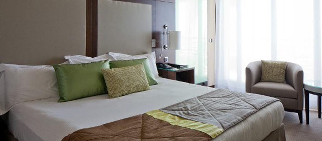 architecture réaménagement hotel chambre