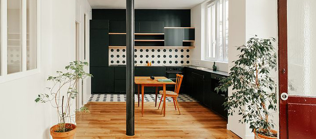 cuisine ouverte moderne loft