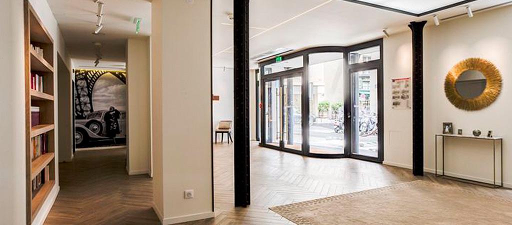 entree hotel luxe renové