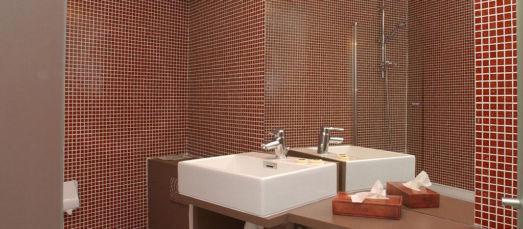 salle eau réhabilitation hotel