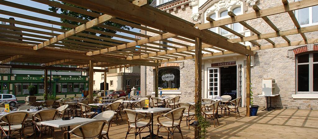 grande terrasse renovation hotel
