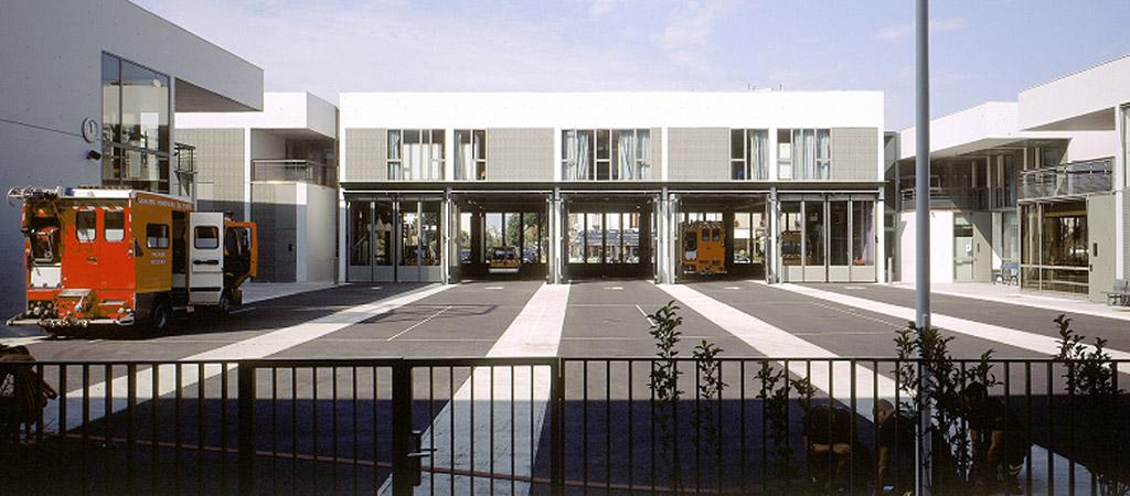 centre pompiers logements architecte