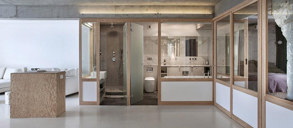 transparence loft architecte sejour