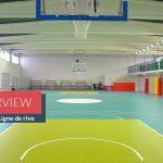 Une rénovation de complexe sportif riche en couleurs