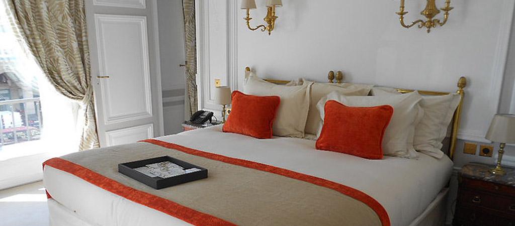 chambre luxe hotel architecte