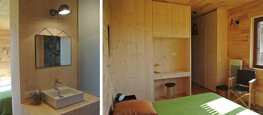 chambre salle d'eau extension