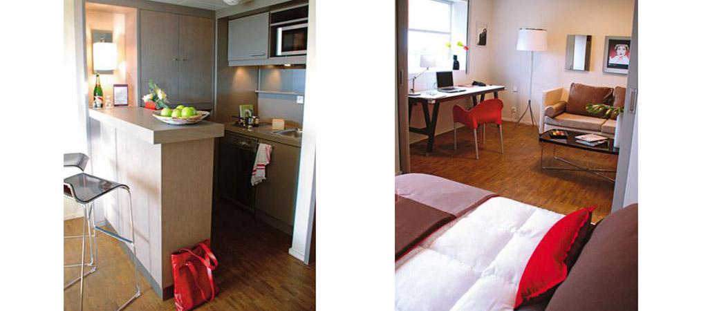 architecture suite chambre hotel