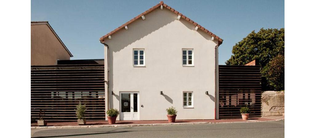 facade hotel restaurant architecte