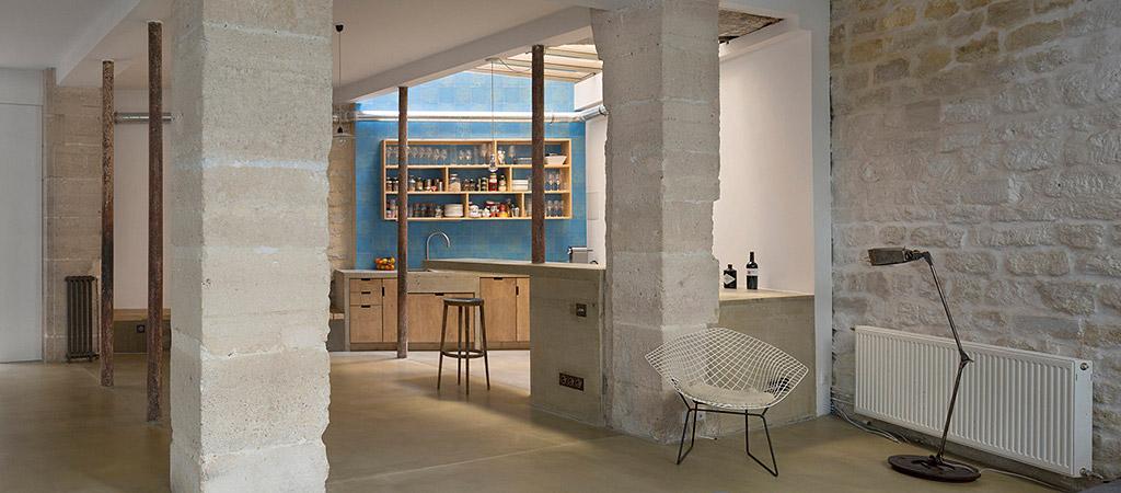 sejour spacieux loft architecte