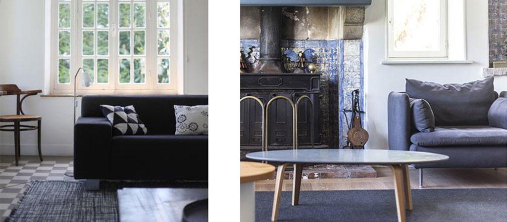 cheminée salon maison architecte