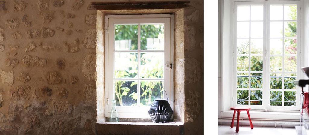 fenêtre pierre ferme architecte