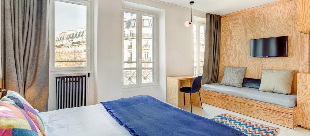 chambre surmesure hotel architecte