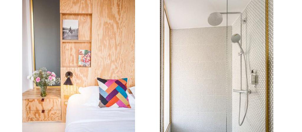 lit surmesure douche hotel