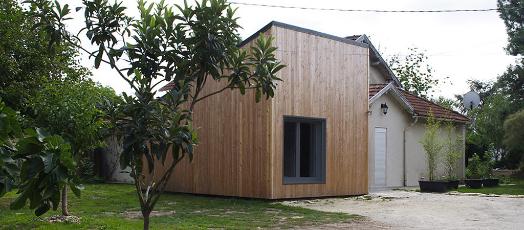 extension bois maison architecte
