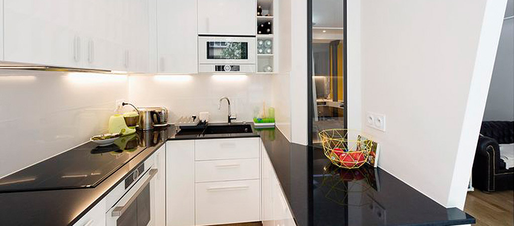 cuisine equipee loft architecte