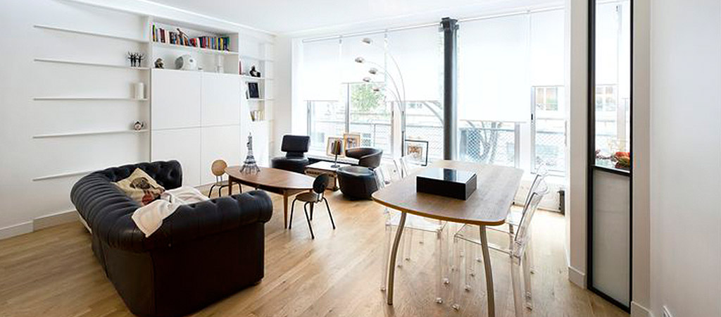 loft lumineux renovation architecte