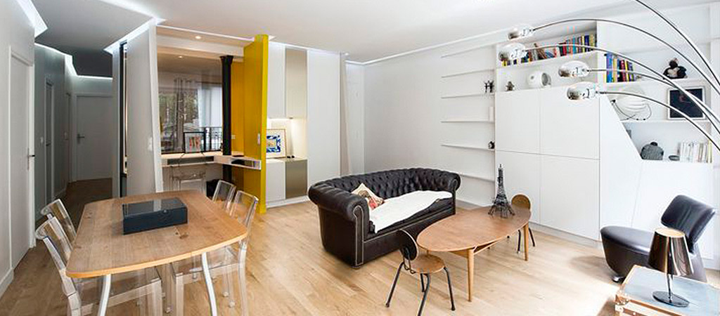 sejour loft contemporain architecte