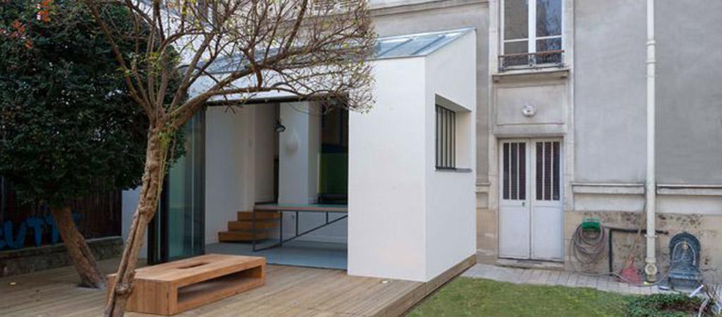 exterieur terrasse loft architecture