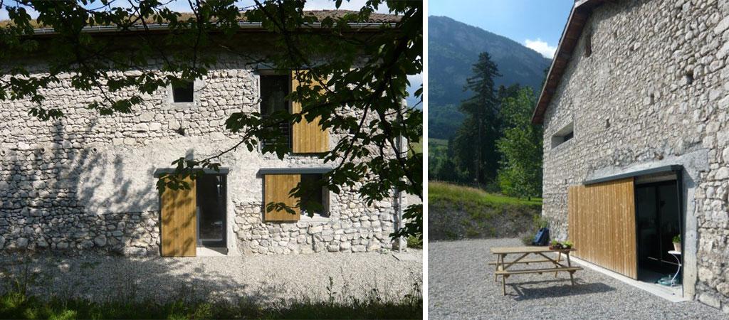 façade maison pierre rénovée