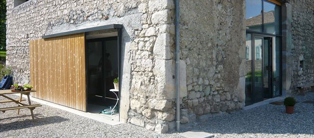 ancienne ferme rénovée maison