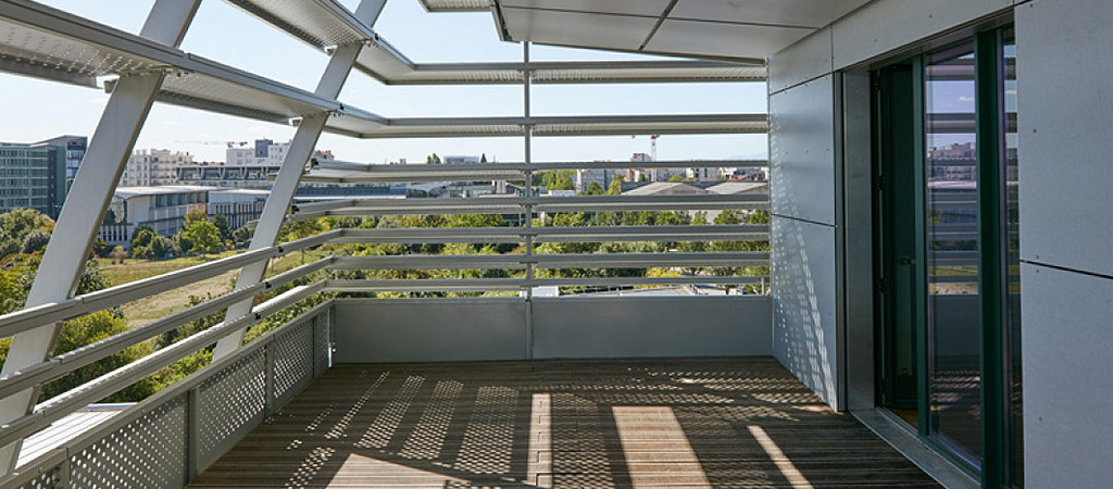terrasse appartement residence architecte