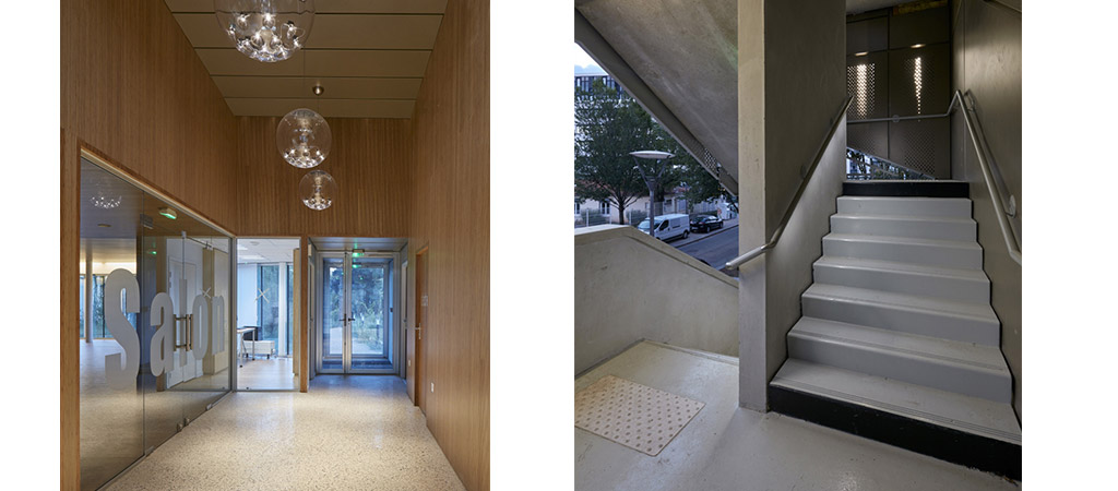 hall escalier residence architecte