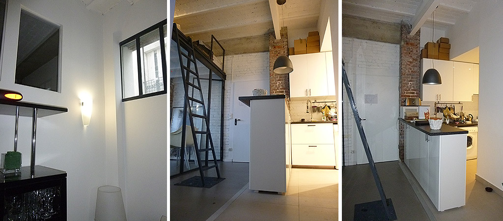 loft mezzanine renovation architecte