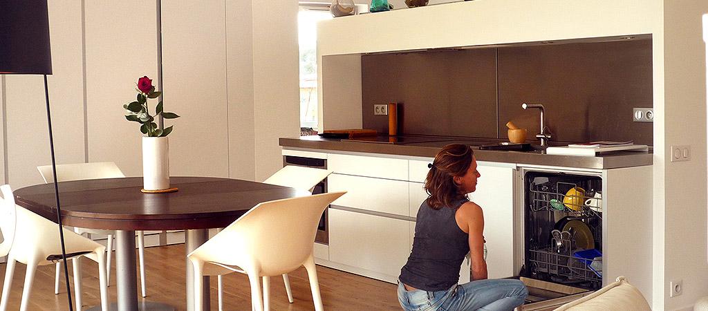 cuisine ouverte extension architecture
