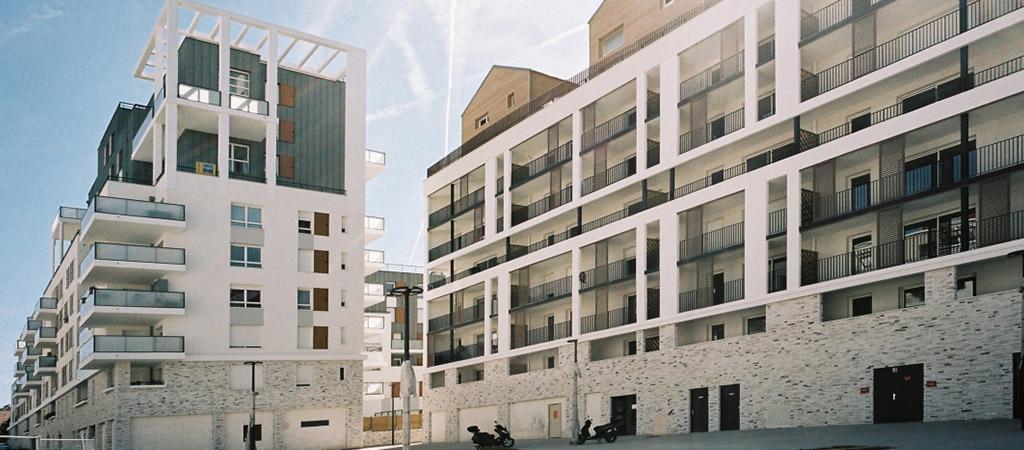 batiments logements projet urbain
