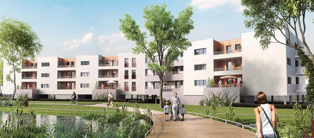 projet logements collectifs architecte