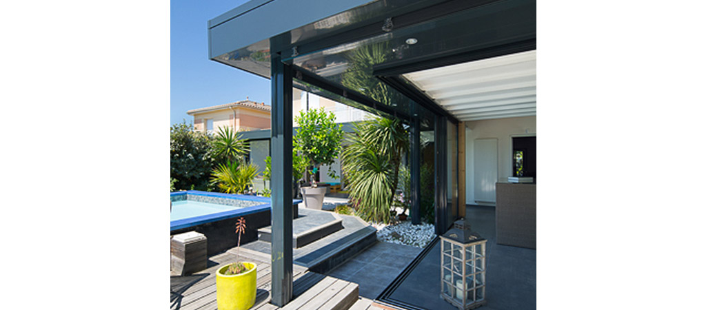 veranda extension architecture villa