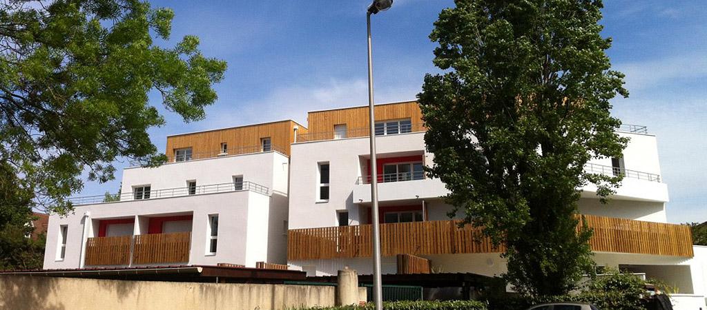 construction logement bois beton