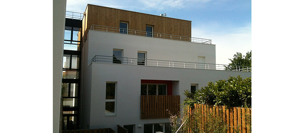 petit logement collectif architecte