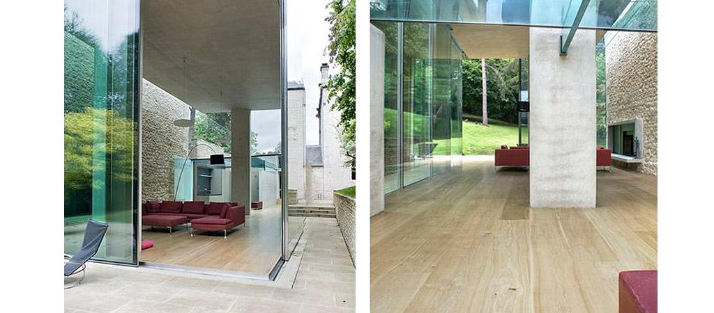 grande villa transparente architecte