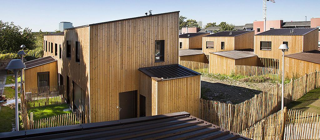 logements bois jardin architecte