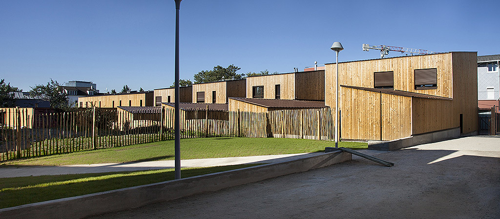 logement individuel jardin architecte
