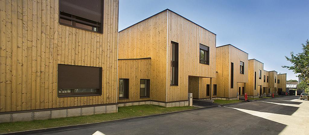 logement bois architecture