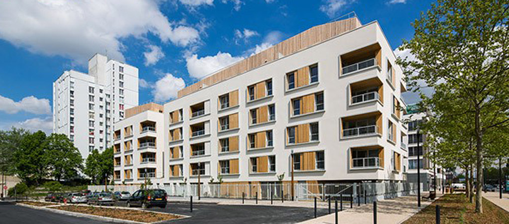 facade construction logements collectifs