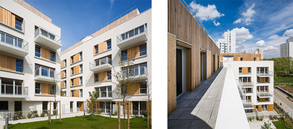 construction logements bois architecte