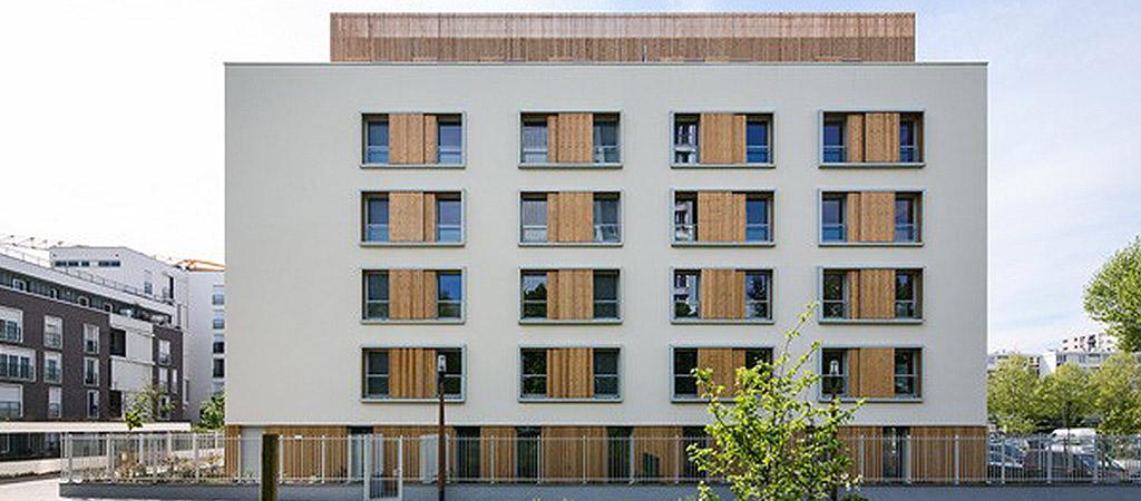 logements collectifs architecte bois