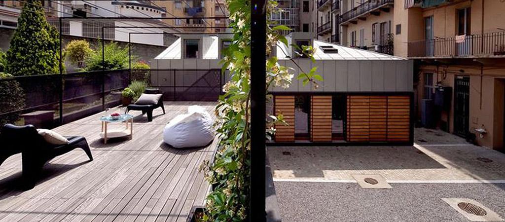 extension villa terrasse toit