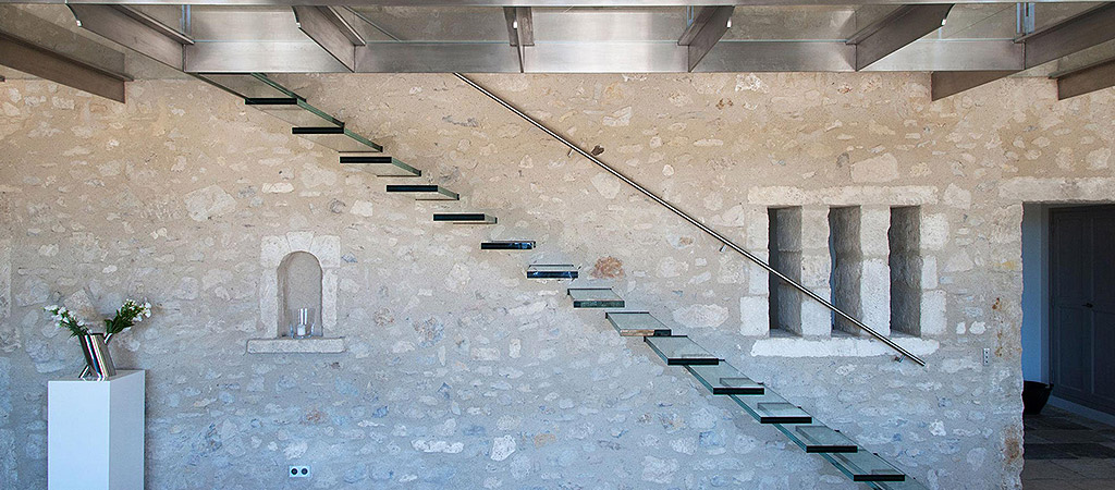 architecture escalier construction villa