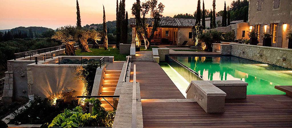environnement villa luxueuse architecte