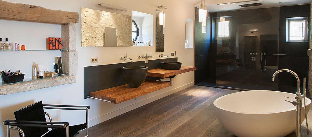 salle bains villa somptueuse
