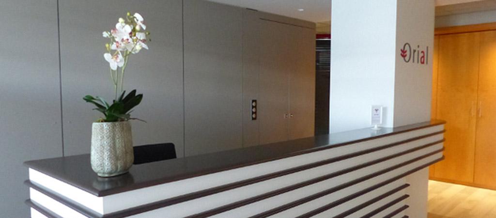 accueil renovation bureaux architecte