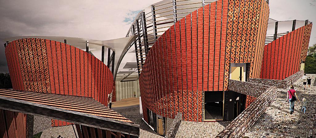 projet 3D amphithéatre manado